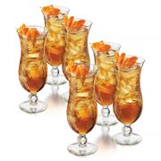 Libbey - Island Hurricane Cocktail Set 6pce