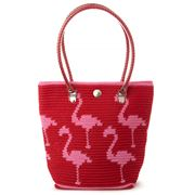 Skipping Girl - Classic Flamingo Tote Bag