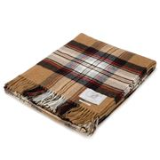 Bronte - Tartan Stewart Camel Throw Rug