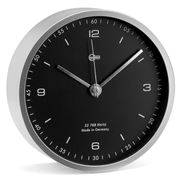 Barigo - Black Desk or Wall Clock