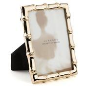 Lunares - Gold Bamboo Frame 13x17cm