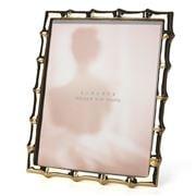 Lunares - Gold Bamboo Frame 19x24cm