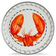 Golden Rabbit - Coastal Lobster Medium Serving Plate