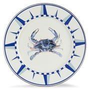 Golden Rabbit - Coastal Blue Crab Dinner Plate