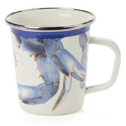 Golden Rabbit - Coastal Blue Crab Latte Mug