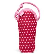 Built NY - Bottle Buddy Baby Pink Mini Dots One Bottle Tote