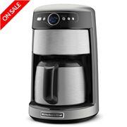 KitchenAid - Artisan KCM223 Coffee Maker Contour Silver