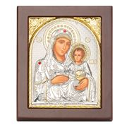 Axion - Holy Virgin Mary of Jerusalem Jewelled 10.5x12.5cm