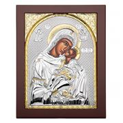 Axion - Holy Virgin Mary Kissing Lovingly 19.5x24.5cm