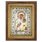 Axion - Grand Holy Virgin Mary Portaitisa w/ Pearls 36x46cm