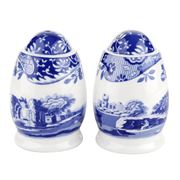 Spode - Blue Italian Salt & Pepper Shaker Set 2pce