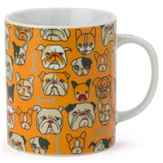 Miya - Bulldog Orange Mug