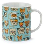 Miya - Bulldog Light Blue Mug
