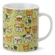 Miya - Bulldog Green Mug