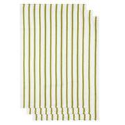 NowDesigns - Basketweave Cactus Tea Towel Set 3pce