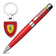 Sheaffer - Ferrari 300 Ballpoint Pen & Keyring Gift Set