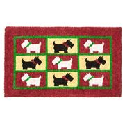 Doormat Designs - Scotty Dogs Doormat