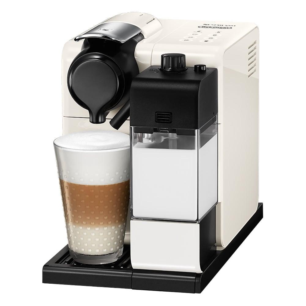 delonghi nespresso white lattissima touch coffee machine. Black Bedroom Furniture Sets. Home Design Ideas