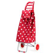 D Line - Shop & Go Mode Red Polka Dot Shopping Trolley