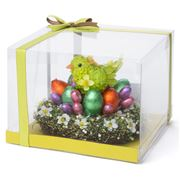 Boz Easter - Boutique Chick with Nest Gift Box