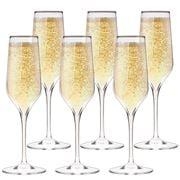 Bormioli Rocco - Electra Champagne Flute Set 6pce