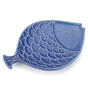 Sadek - Shore Blue Fish Plate 21.5cm