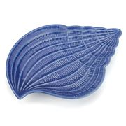Sadek - Shore Blue Conch Plate 22.5cm