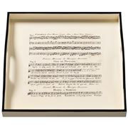 Whitelaw & Newton - Music On Cream Small Square Tray