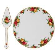Royal Albert - Old Country Roses Cake Plate & Server