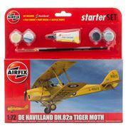 Airfix - De Havilland D.H.82A Tiger Moth Model Set