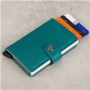 Secrid - Original Leather Emerald Mini Wallet