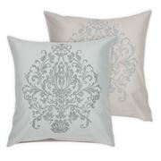 MM Linen - Valencay Reversible European Pillowcase Set 2pce