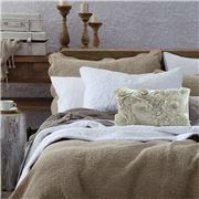 MM Linen - Melia Bedspread Set Stonewash Queen
