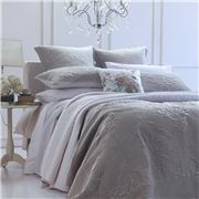 MM Linen - Florentina Silver Grey Small/Queen Bedspread Set