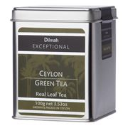 Dilmah - Exceptional Ceylon Green Tea Tin Caddy 100g