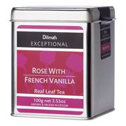 Dilmah - Exceptional Rose With French Vanilla Tin Caddy 100g