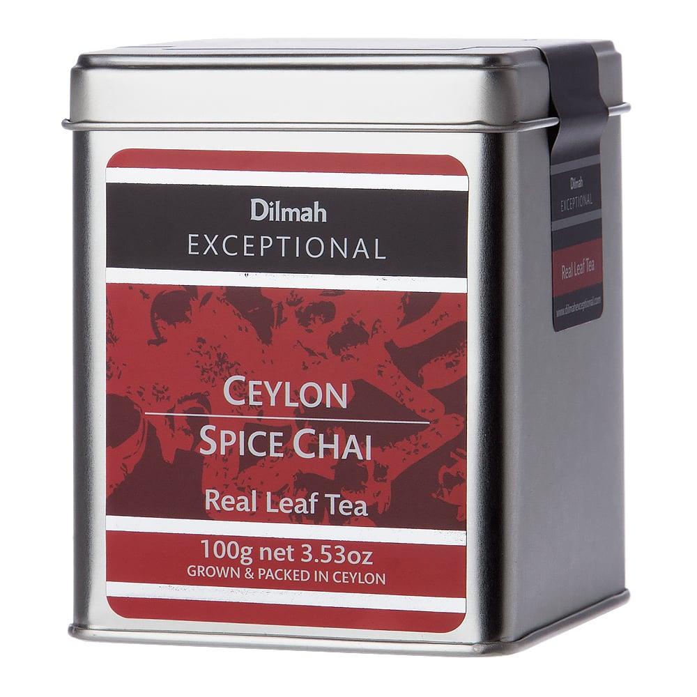 Dilmah Exceptional Ceylon Spice Chai Tin Caddy 100g