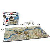 Games - 4D Cityscape St Petersburg Jigsaw Puzzle 1245pce