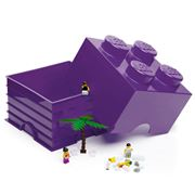 Lego - Friends Lilac Storage Brick 4 Studs