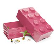 Lego - Friends Pink Storage Brick 8 Studs