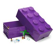 Lego - Friends Lilac Storage Brick 8 Studs