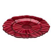 IVV - Red Pearl Magnolia Platter 32cm