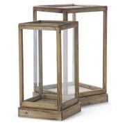 Avalon - Glass & Wood Display Box Set 2pce