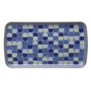 Denby - Heritage Fountain Accent Rectangle Plate
