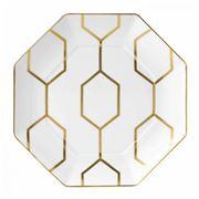 Wedgwood - Arris White Octagonal Plate 23cm
