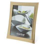 Nambe - Beaded Gold Frame 20x24cm