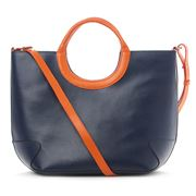 Laurige - Belle Ile Navy Handbag