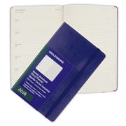 Moleskine - 2016 Large Royal Blue Hardcover Weekly Diary
