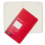 Moleskine - 2016 Large Red Hardcover Daily Diary