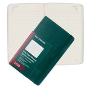 Moleskine - 2016 Large Green Hardcover Daily Diary